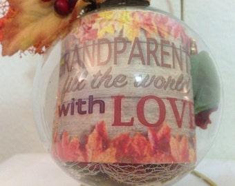 Personalized Grandparents Day Ornament