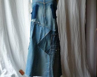 apron dress size S