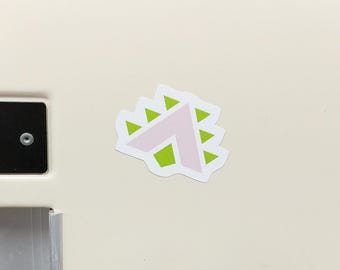 Orisa Fortify Small Vinyl Sticker