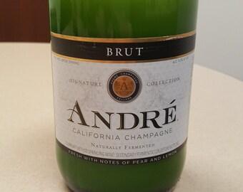 Andre Brut Champagne - Bottle Candle