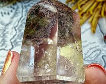 Lodolite Quartz, Purple Garden, Garden Quartz, Scenic Quartz, Crystal Generator, Metaphysical Crystal
