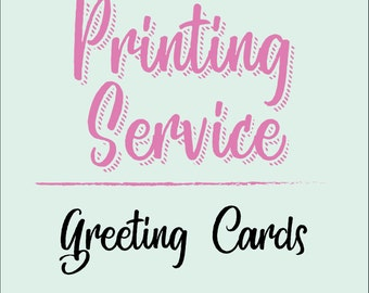 Greeting Cards - Printing Services