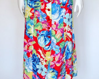 Kenzo Paris vintage floral maxi skirt medium size