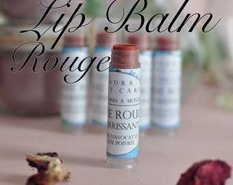 Lip balms / / Natural red Lips Balms / / Cocoa butter and Avocado oil / / butter cocoa and lawyer