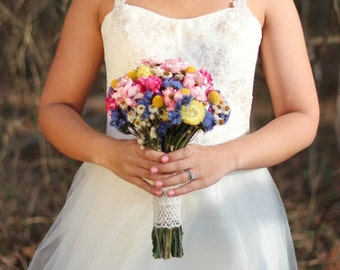 Today 50% off this Bride's Bouquet!!!   Bright Wedding Bouquet