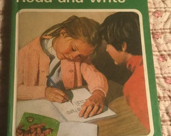 Vintage Ladybird Books - 1C Read and Write