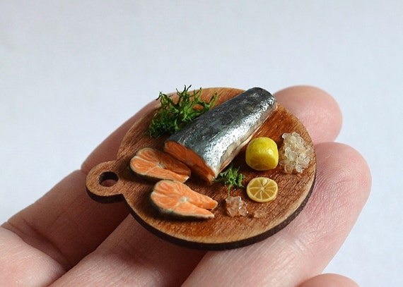 Realistic Toy Food : Dollhouse miniature food realistic