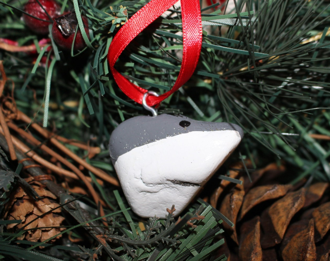 Great white shark christmas ornaments - Like This Item