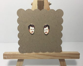 "Ron Swanson-""Parks and Recreation"""