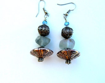 Pagode earrings
