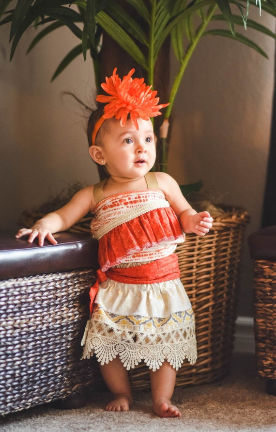 Disney Moana Adorable Baby Costume