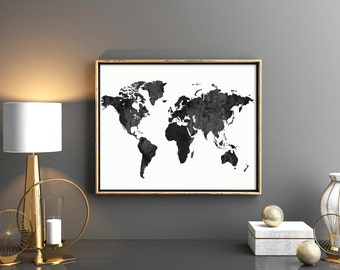 World map download Etsy