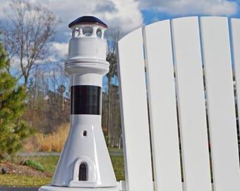 Ceramic Lighthouse Candle Holder (Nittsjo, Sweden)