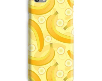 Banana iPhone Case, Yellow iphone case, Bananas iphone 6 case, Fruit iphone 6 case, Funny iphone 6s case, Humor iphone case