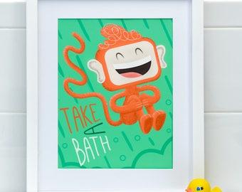 Take A Bath, Myko! in Kiwi