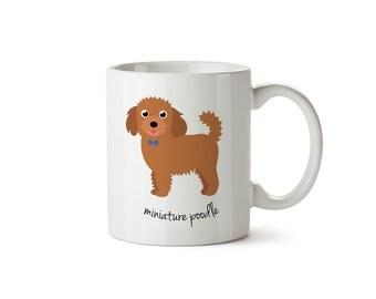 Miniature Poodle Mug (boy)