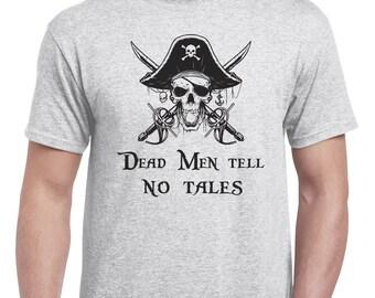 "Disney Pirates of the Caribbean ""Dead Men Tell No Tales"" Tshirt"