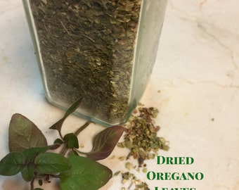 Homegrown Dried Oregano Leaves *Free Shipping*
