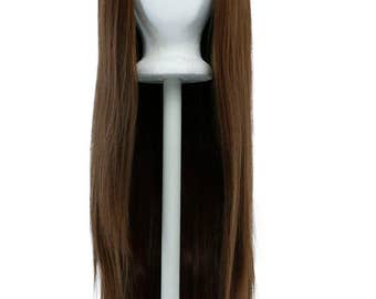 Luna - 30'' Straight Lace Front Wig with 2'' lace