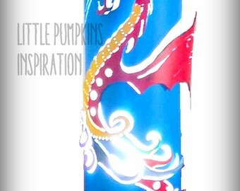 PVC - Chinese Dragon lamp