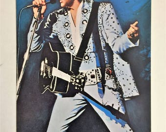 Elvis Presley Post Card, 1982 Vintage Elvis Presley, Elvis Postcard, Vintage Elvis Postcard, Elvis Graceland Post Card, Elvis Used Postcards