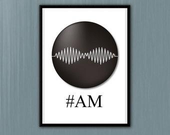 Arctic Monkeys Print , Music Art, A4 8x10 size