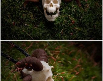Pendant to order. Vampire skull pendant necklace. Goth vampiric demonic gothic style pendant necklace demon skull devil