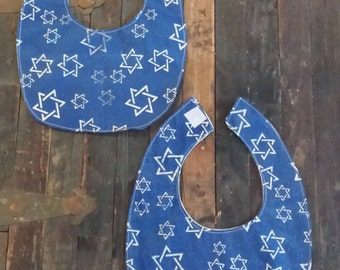 Star of David Bib // Hanukkah Bib // Passover Bib