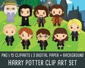 20% OFF Harry Potter Clipart, Wizzard clip art, magic clipart, harry potter birthday, harry potter party, Instant Download PNG 300 - dpi