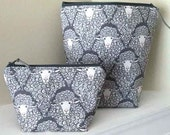 Wooley Sheep Bag and Matching Notion Pouch