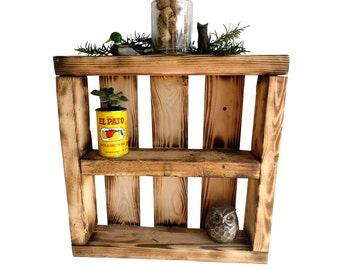 Rustic Shadow Box Display Case - wall mounted shelf display shelf reclaimed wood shelves bathroom storage wall box wall shelf wall decor