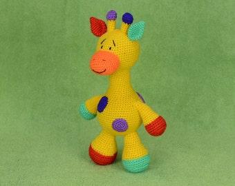 Crochet giraffe, Giraffe toy, Amigurumi Giraffe, Crochet toy, Giraffe Plush, Giraffe stuffed animals, Amigurumi animals, Knitted toys.