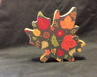 Leaf, fall leaf, fall decorations, fall, handmade decorations