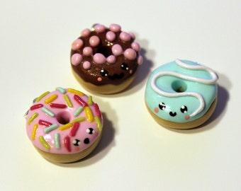 Donut Charm - Polymer Clay
