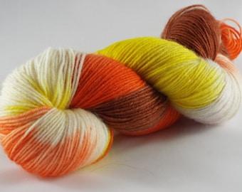 hand-dyed sock yarn, handdyed yarn, Sockyarn