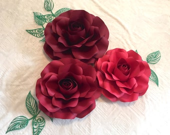 Paper Flower Backdrop *******CUSTOMIZE YOUR ORDER*********
