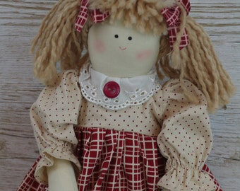 Collectable Rag Doll I May Not Be Rich Or Famous Grandchildren Nan Gift FD0487B