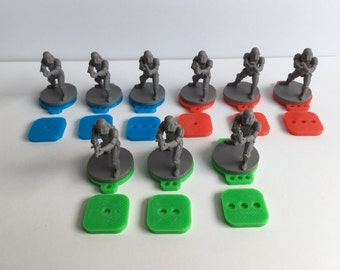 Imperial Assault Squad and Activation Tokens – Multiple Color Pack