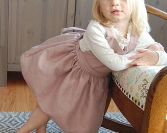 Linen Apron Dress