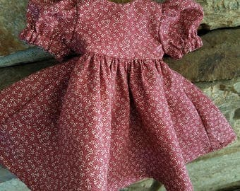 Dress and Pantaloons for 11 inch, 12 inch and 13 inch baby doll/Corolle doll 12 inch