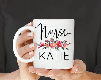 Nurse Mug, Nurse Gift, RN Mug, RN Gift, Graduation Gift for Nurse, Gift for Nurse, Registered Nurse, Nursing School, Nurse Appreciation