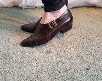 Brown Oxfords by Gabor