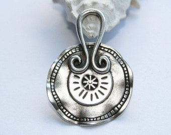 Chain silver amulet, talisman, necklace, pendant silver