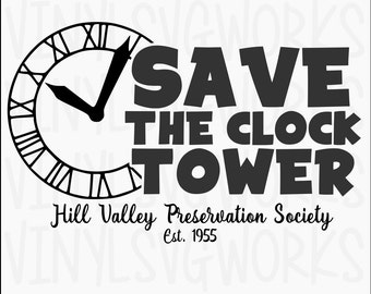 Save The Clocktower SVG FILE