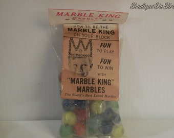 1964 Marble King Marbles