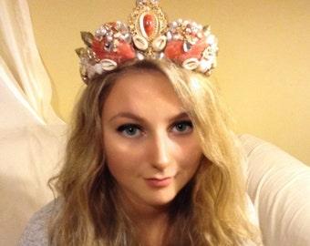 Glamorous Mermaid Tiara Crown