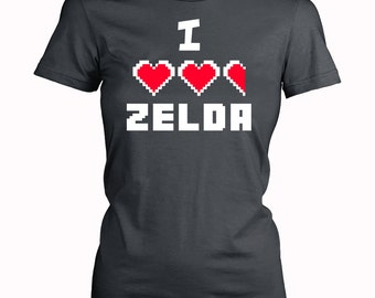 I HEART Zelda Nintendo Video Game T-Shirts for Women