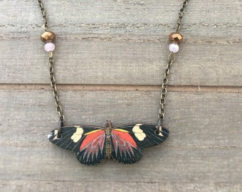Natural Whimsy: Butterfly Necklace