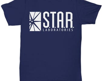 Star Laboratories shirt , Star Labs t shirt , The Flash tee , Barry Allen,  S - 5XL   7 Colours