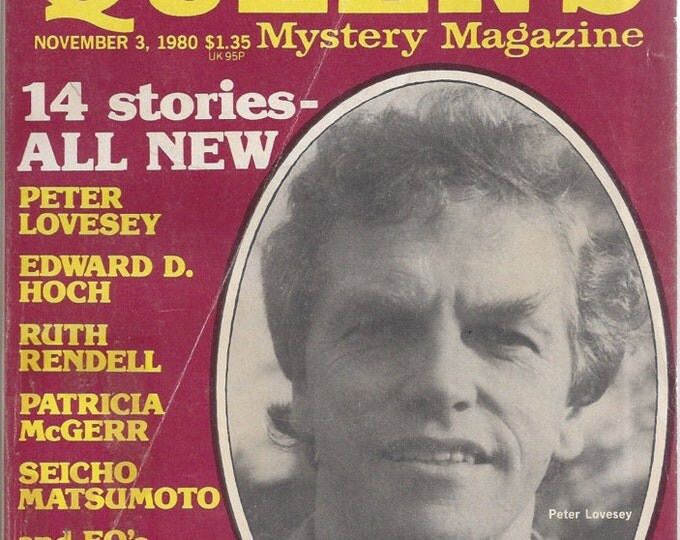 Ellery Queen November 1980 Mystery Magazine